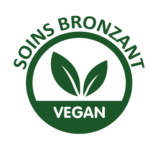 logo vegan soin bronzant